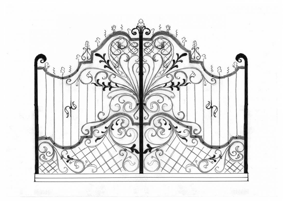 Conosciuto Cancelli in ferro battuto: Cancello in Ferro | Lavori in ferro battuto MC75