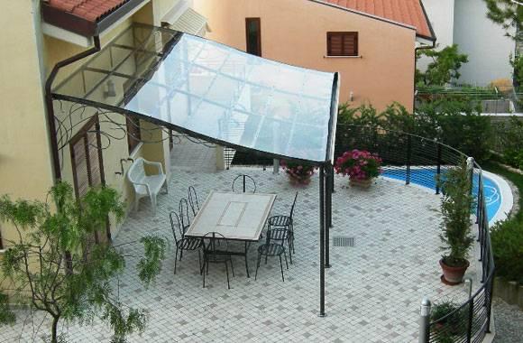 Gazebo tettoie ferro battuto 580 380 giardino gazebi e tettoie pinterest - Tettoie da giardino in ferro ...