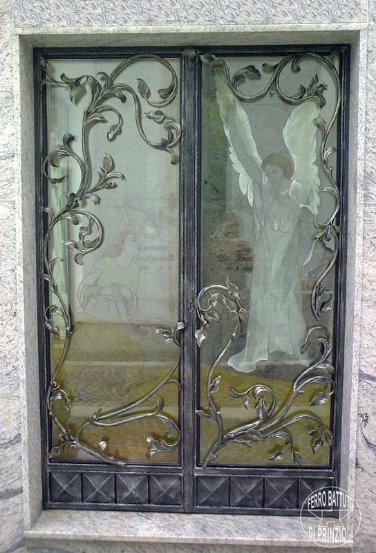 Porte gentilizie creazioni artigianali in ferro battuto - Ferro battuto porta ...