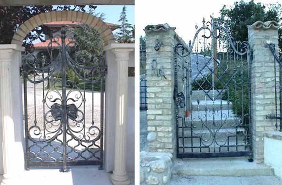 Cancelli in ferro battuto prezzi for Cancelli da giardino