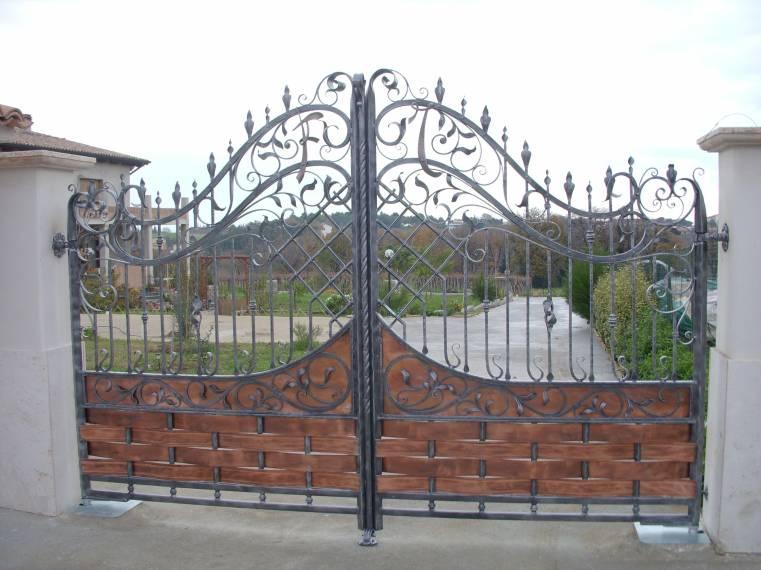 Famoso Cancelli in ferro battuto: Cancello in Ferro | Lavori in ferro battuto RS54