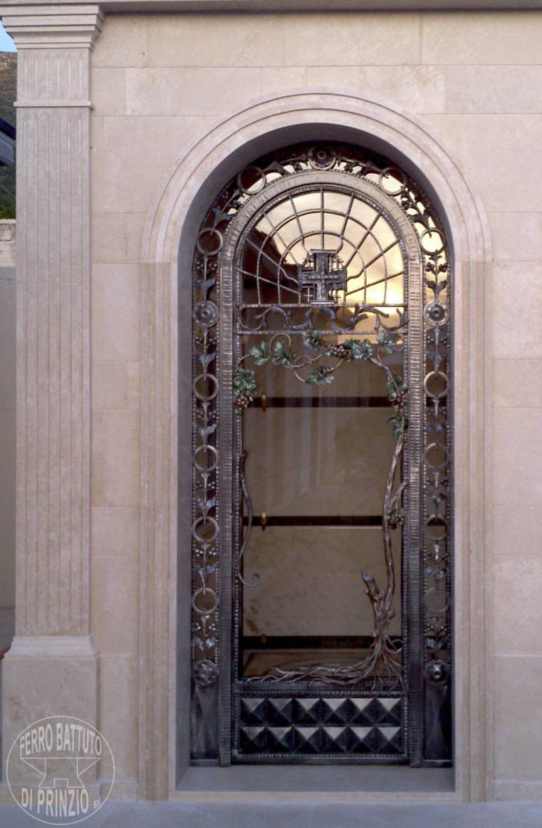 Porte gentilizie - Ferro battuto porta ...