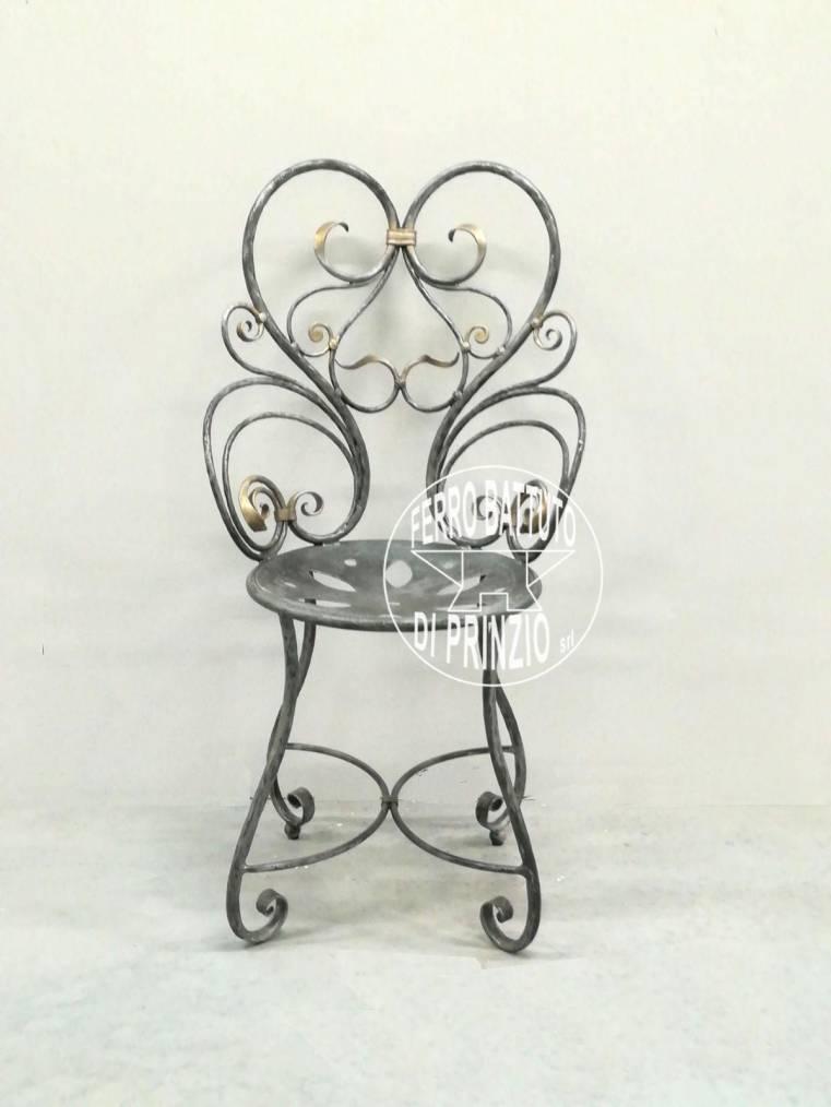 Sedie in ferro: Sedie e panche in ferro battuto | Panchine di ferro