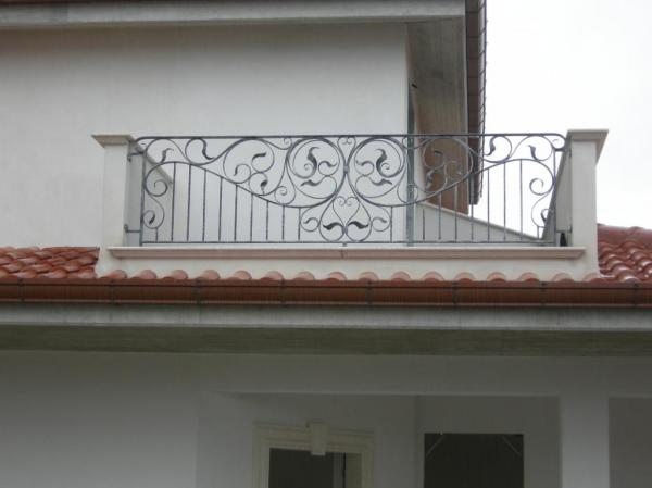 Catalogo balaustre esterne in ferro e ferro battuto