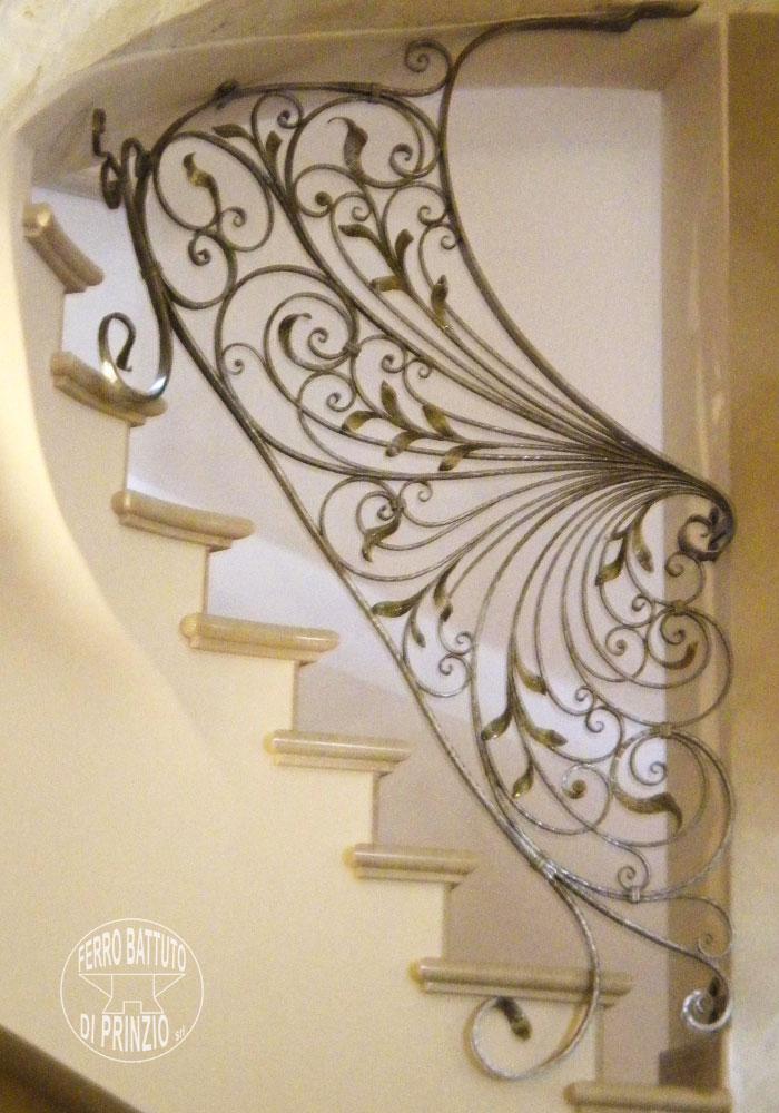 Amato Balaustre interne: in ferro - scale in ferro battuto, ringhiera  SR35