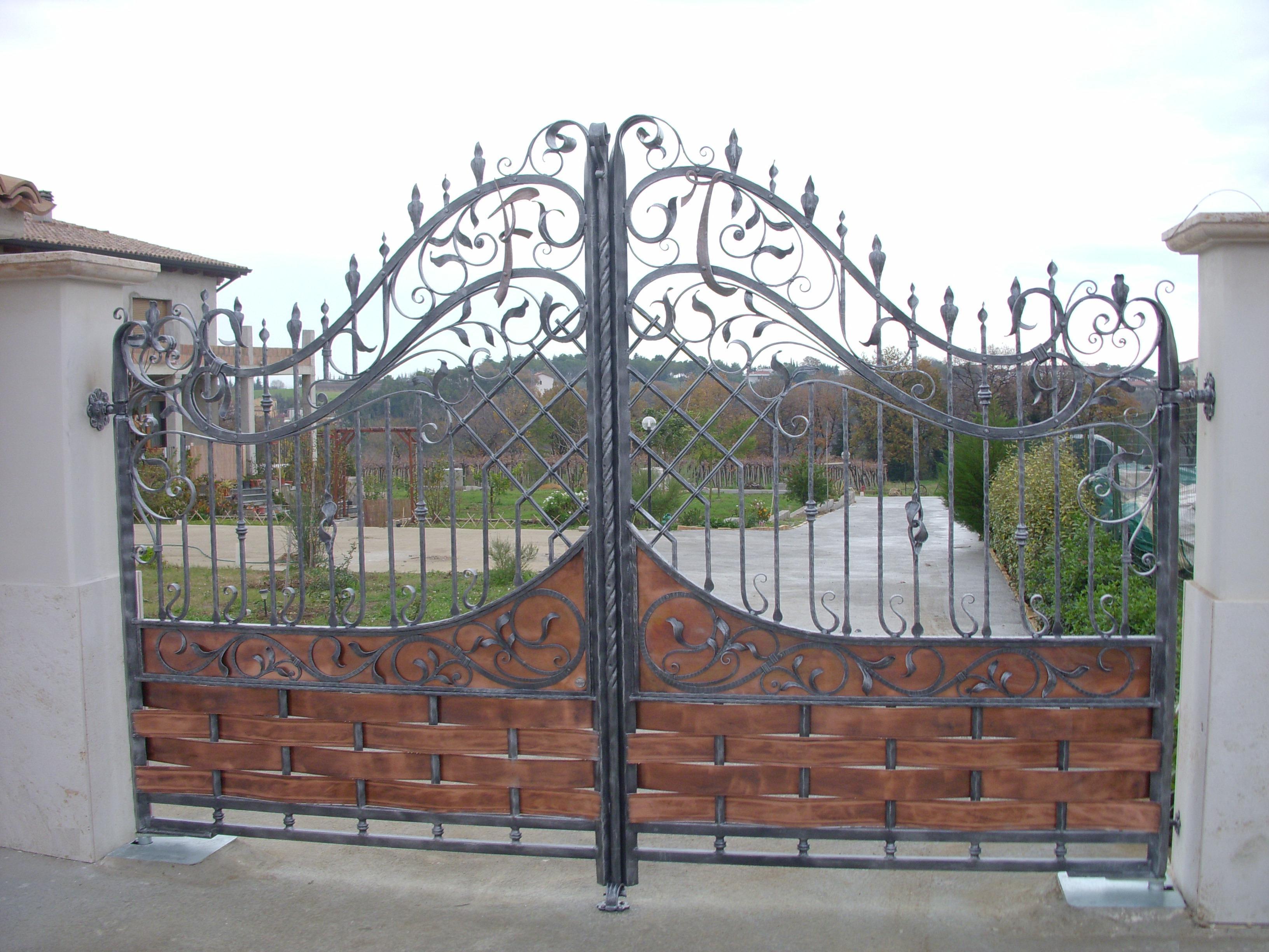 Assez Cancelli in ferro battuto: Cancello in Ferro | Lavori in ferro battuto XW75