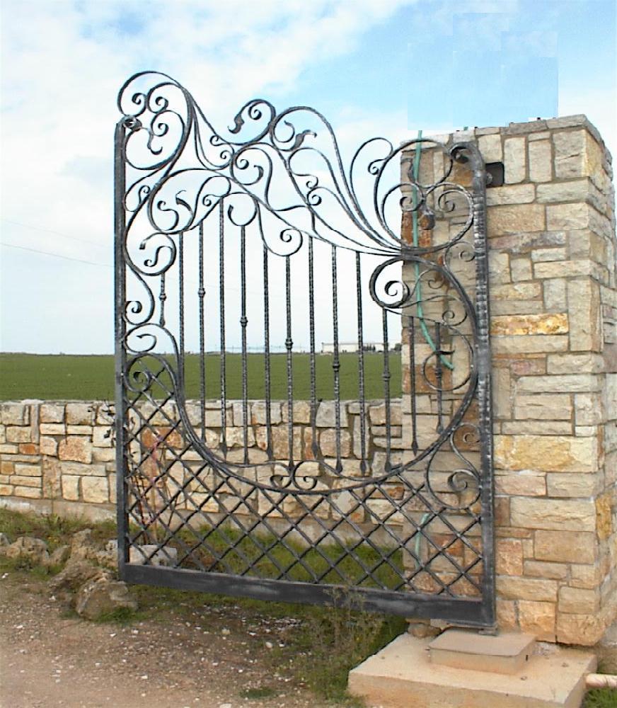 cancelli in ferro battuto cancello in ferro lavori in