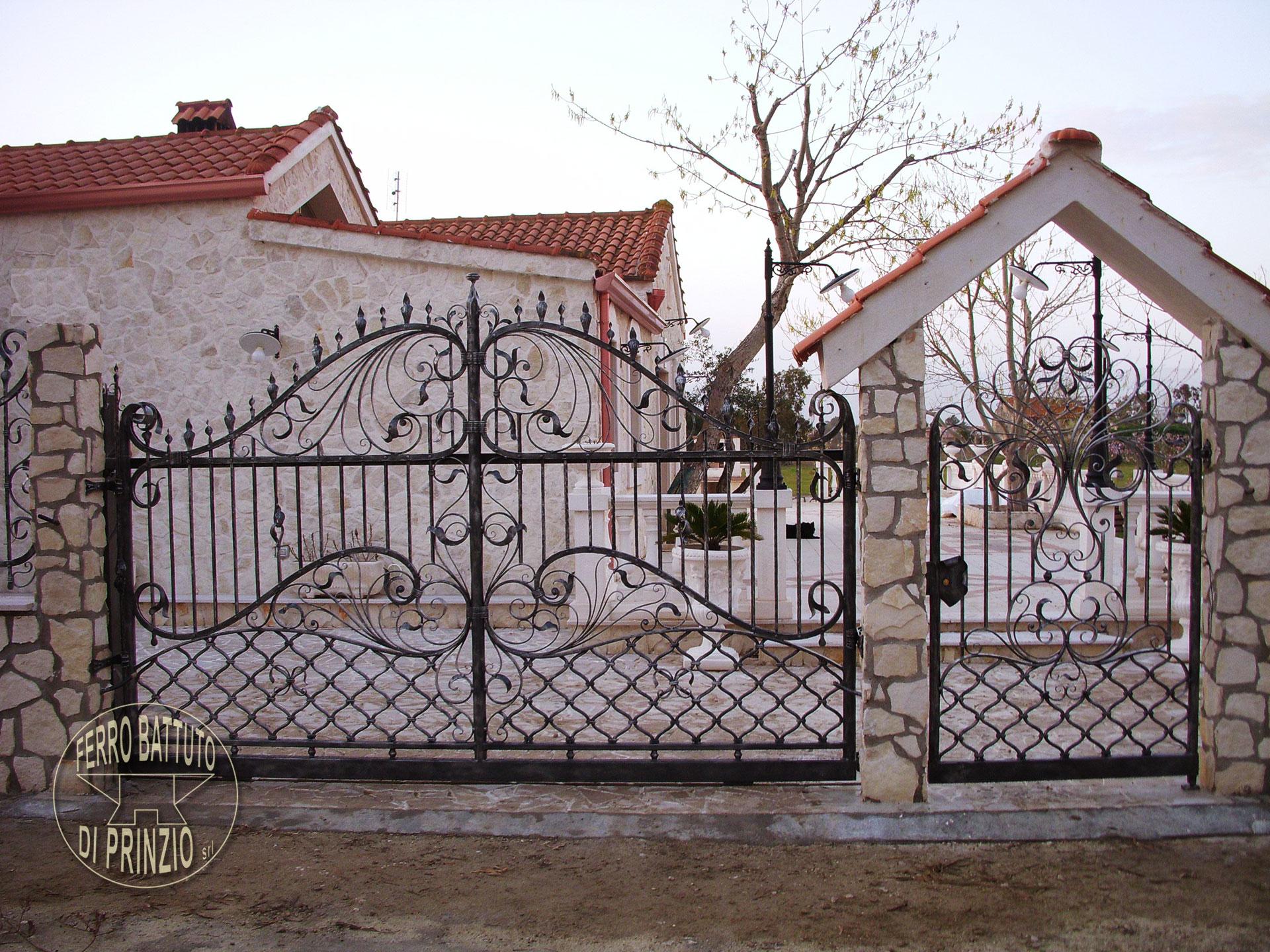 Popolare Cancelli in ferro battuto: Cancello in Ferro | Lavori in ferro battuto DO44