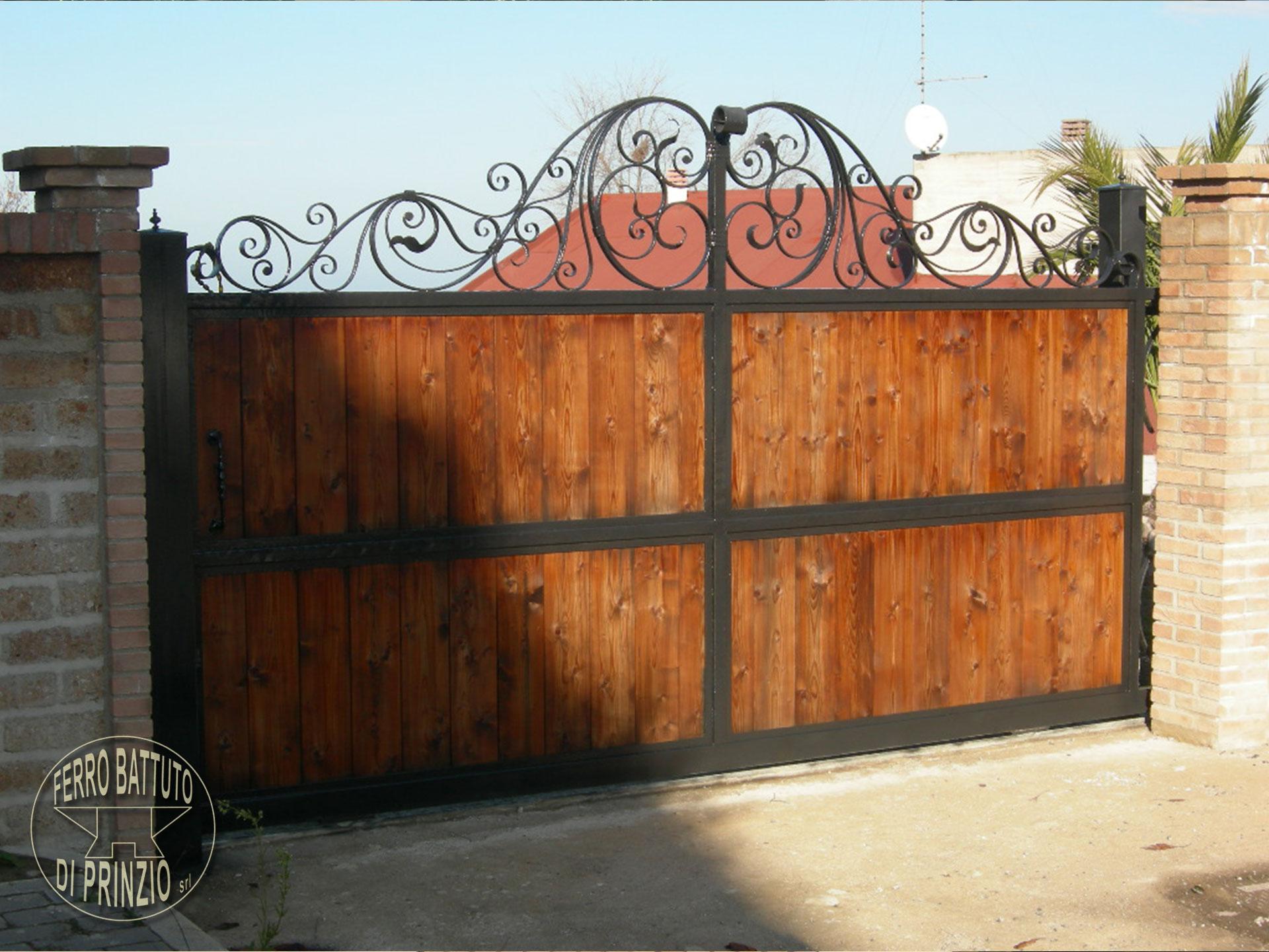 Estremamente Cancelli in ferro battuto: Cancello in Ferro | Lavori in ferro battuto EA27