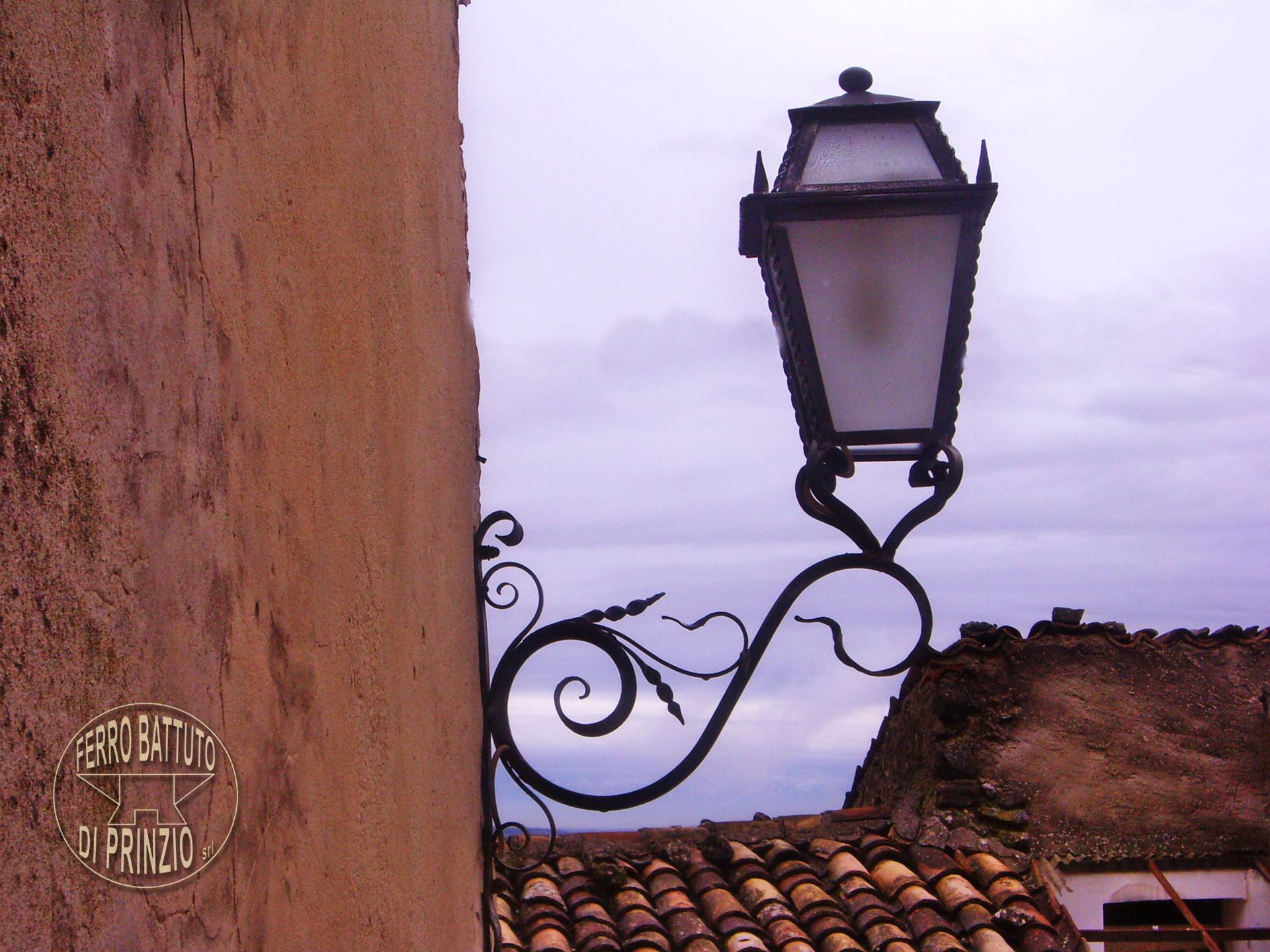 Lampioni in ferro battuto in ferro battuto lampioncini in ferro