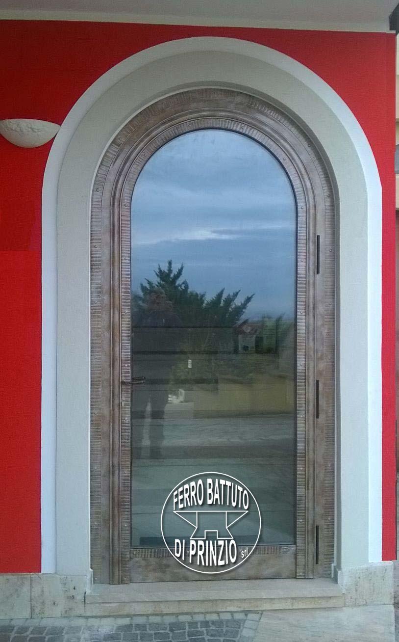 Porte in ferro battuto cancelli in ferro battuto letti - Porte ad arco ...