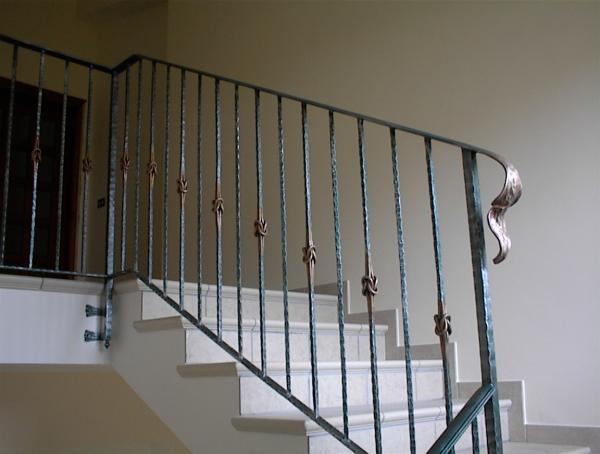 Favorito Ringhiere in ferro battuto: ferro battuto | recinzioni in ferro  AL95