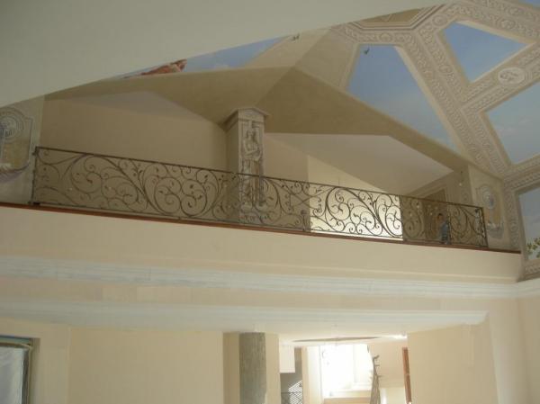 Ringhiere in ferro battuto ferro battuto recinzioni in - Scale interno casa ...