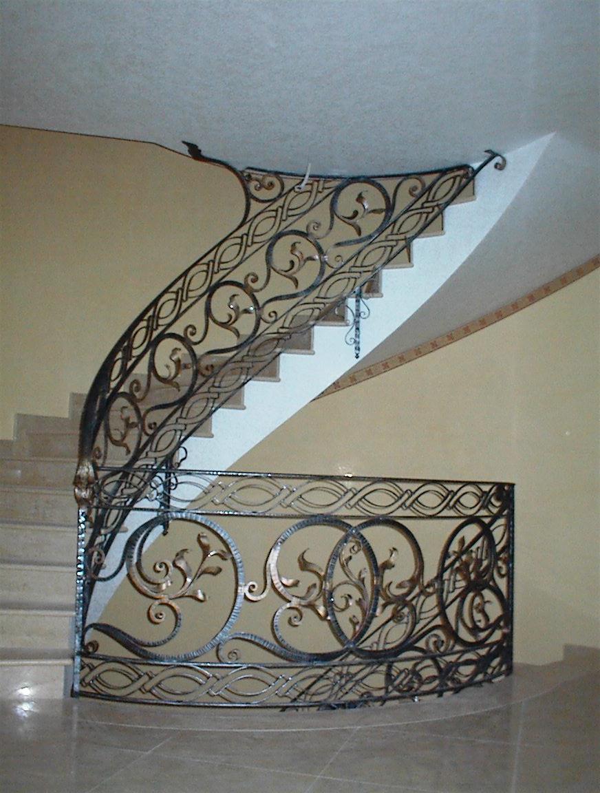 Balaustre interne in ferro scale in ferro battuto ringhiera per scale pag 2 - Scale interne in ferro ...