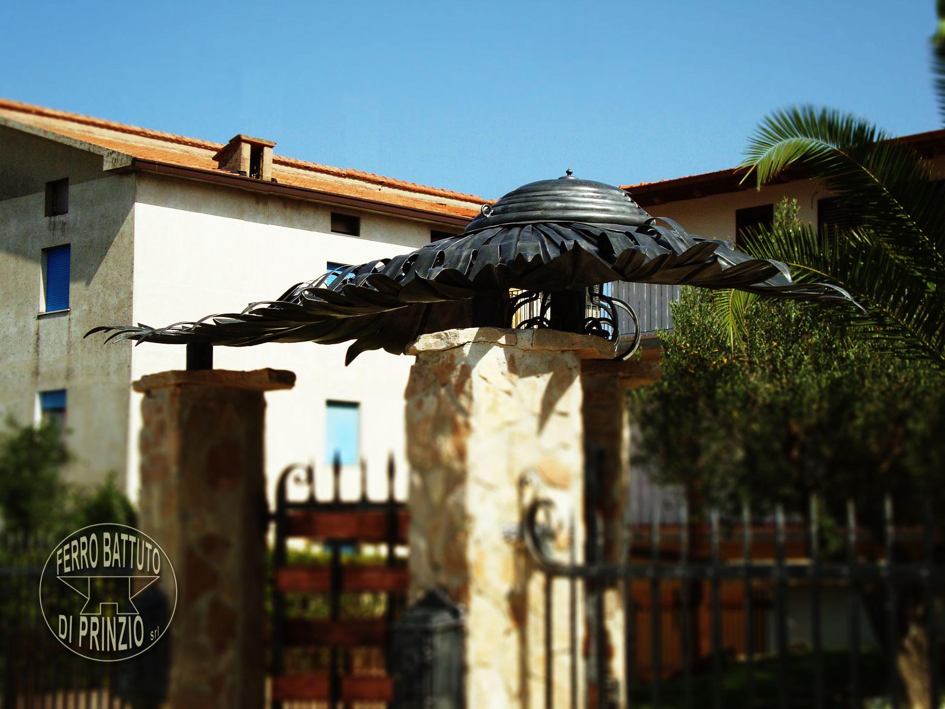 Tettoie: Tettoie in ferro battuto, tettoia per terrazzo, tettoia ...